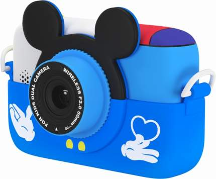 Детский цифровой фотоаппарат GSMIN Fun Camera Memory Blue (BT601166)