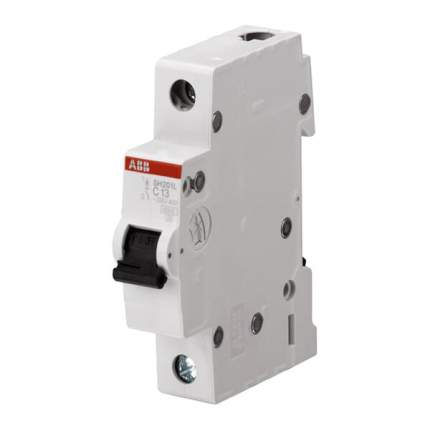 Автоматический выключатель ABB SH201L 1P C10, 4,5kA, 2CDS241001R0104