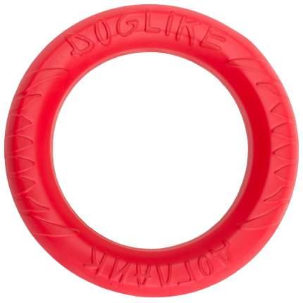 Апорт для собак DOGLIKE Снаряд для профессиональной дрессировки, красный, длина 20 см