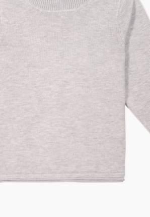 Пуловер для девочек Modis цв. серый р.116