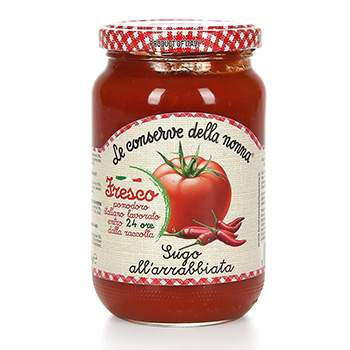 Соус томатный Le conserve della nonna аррабиата 350 г