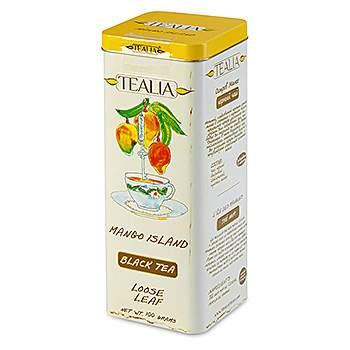 Чай черный TeaLia Mango Island листовой 100 г