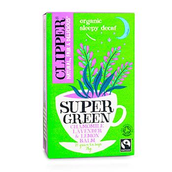Чай зеленый Clipper Sleepy Decaf органик с ромашкой лавандой и мелиссой 20*1.75 г