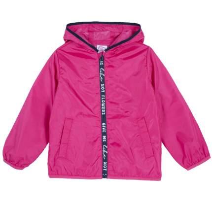 Куртка для девочек Chicco на молнии, цвет фуксия, размер 92