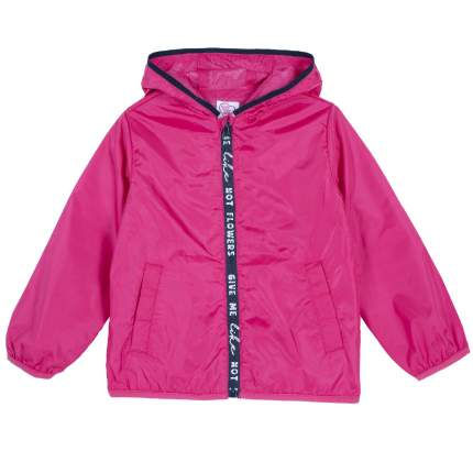 Куртка для девочек Chicco на молнии, цвет фуксия, размер 128
