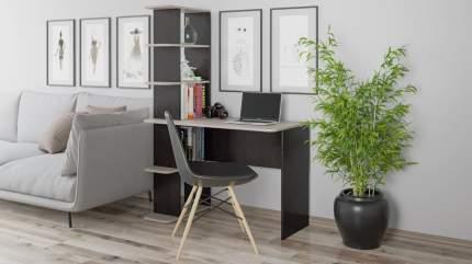 Письменный стол Трия 146494, дуб молочный/венге цаво