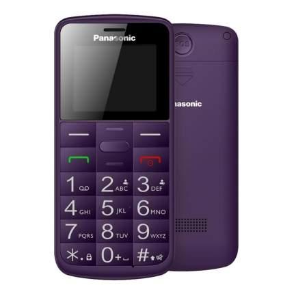 Мобильный телефон Panasonic KX-TU110 RU Violet