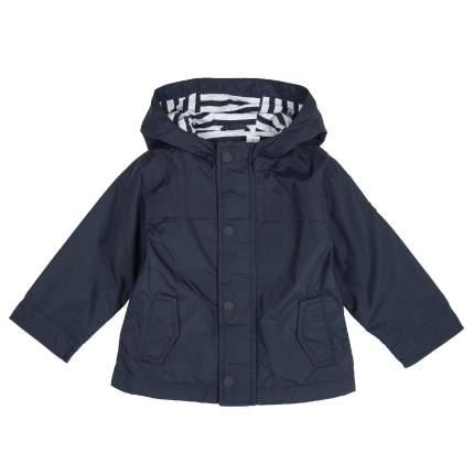 Куртка для мальчиков Chicco с капюшоном, цвет темно-синий, размер 86