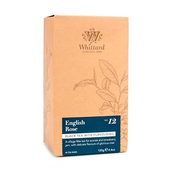 Чай черный Whittard of Chelsea Английская роза 50*2.5 г Великобритания