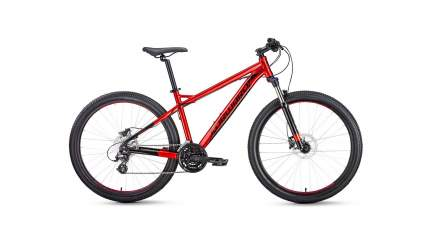 "Велосипед Forward Quadro 27.5 3.0 Disc 2020 17"" red"