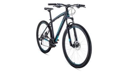 """Велосипед Forward Next 29 2.0 Disc 2020 19"""" black/turquoise"""