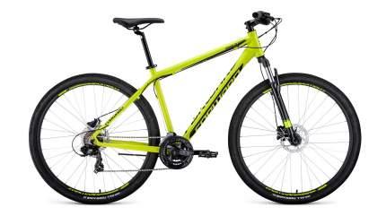 "Велосипед Forward Apache 29 3.0 Disc 2020 19"" black/yellow"
