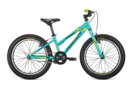 Велосипед Format 7424 2020 One Size black/turquoise/yellow