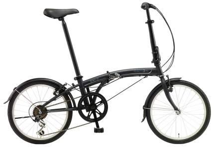 Складной велосипед Dahon SUV D6 (2019) размер колеса 20 Черный