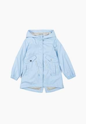 Куртка-парка для девочек Modis цв. голубой р.110