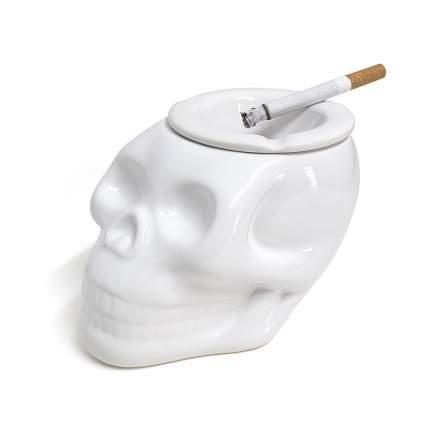 Пепельница Skully белая