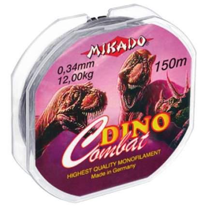 Мононитная леска Mikado Dino Combat 150м - 0.22мм - 6.00кг
