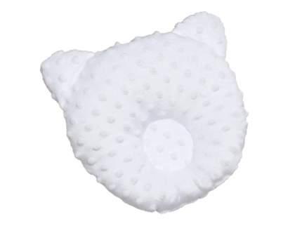 Подушка анатомическая Amarobaby Bubble белый