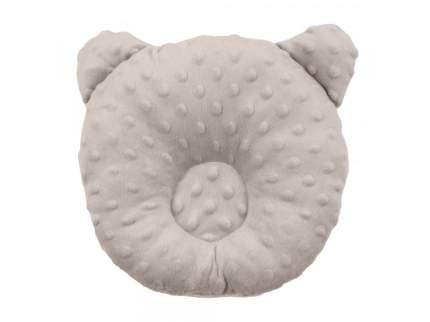 Подушка анатомическая Amarobaby Bubble серый