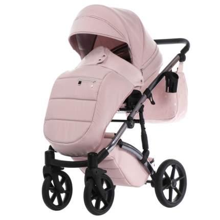 Коляска детская 2 в 1 TAKO LARET IMPERIAL TLI-05 розовый/рама серебро