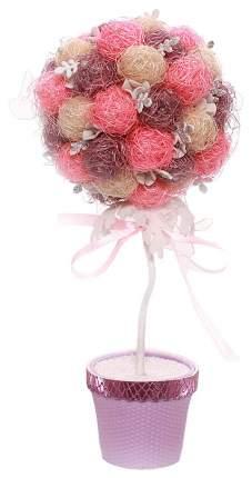Набор для творчества топиарий Розовое чудо Волшебная мастерская