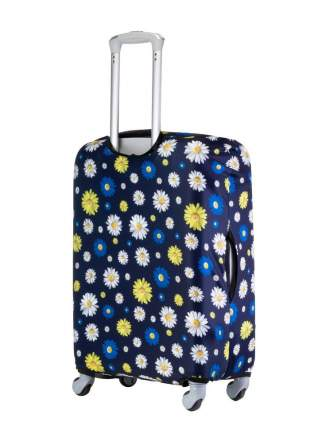 Чехол для чемодана Verona Crown, цветы, L