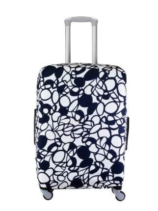 Чехол для чемодана Verona Crown, абстракция, L