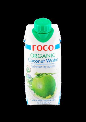 Вода кокосовая органическая Foco 330 мл