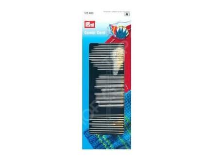 Иглы PRYM для шитья, вышивки, штопки 50шт. + нитевдеватель, 128400