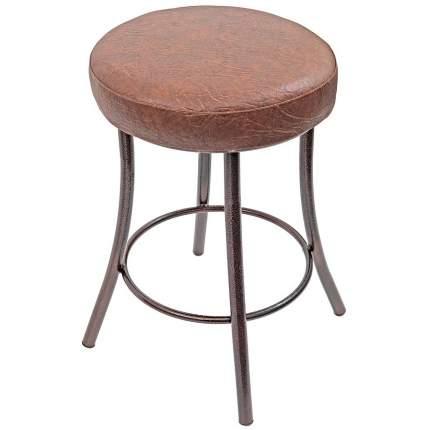 Табурет Suck UK 1524 34х34х53 см, коричневый/антик-медь