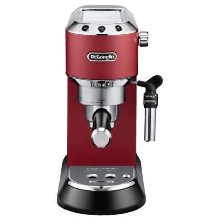 Рожковая кофеварка DeLonghi Dedica Style EC 685.R Red