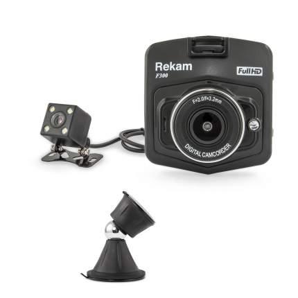 Комплект видеорегистратор Rekam F300 плюс универсальный магнитный Rekam Magnitos M-15