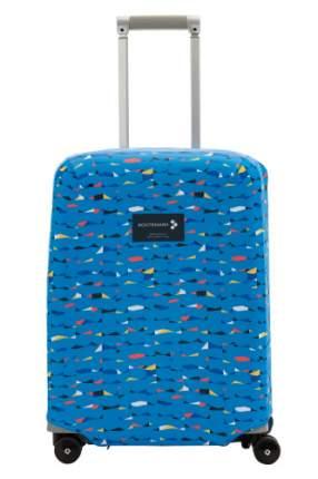 """Чехол для чемодана """"Грани"""" с паттерном Студии Артемия Лебедева SP310 S"""