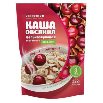 Каша моментального приготовления со сливками вишня и миндаль в пакетиках одноразовых