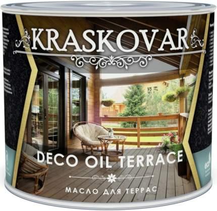Масло для террас Kraskovar Deco Oil Terrace Эбеновое дерево 2,2л