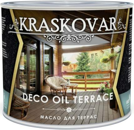 Масло для террас Kraskovar Deco Oil Terrace Палисандр  2,2л