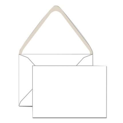 Конверты С6 (114х162 мм), клей декстрин, белые, КОМПЛЕКТ 1000 шт., треугольный клапан