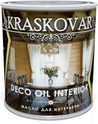Масло для интерьера Kraskovar Deco Oil Interior Бук 0,75л