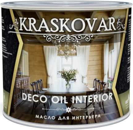 Масло для интерьера Kraskovar Deco Oil Interior Белый 2,2л