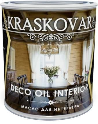Масло для интерьера Kraskovar Deco Oil Interior Белый 0,75л