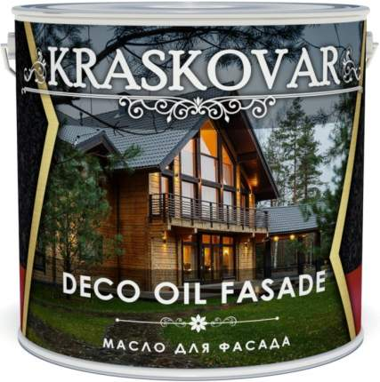 Масло для фасада Kraskovar Deco Oil Fasade Гранат 5л