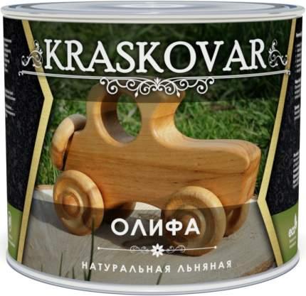 Олифа натуральная Kraskovar 2,2л