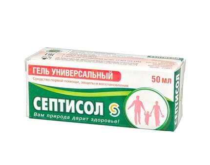 Септисол Венец Сибири гель универсальный 50 мл