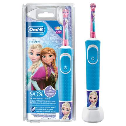 Зубная щетка электрическая Braun Oral-B Vitality Kids Frozen D100.413.2K