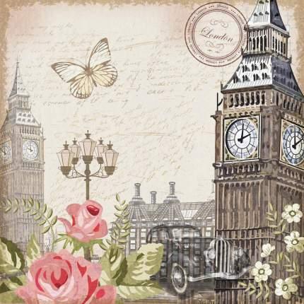 Фотообои Московская Обойная Фабрика Лондон Винтажная открытка 2181-ML