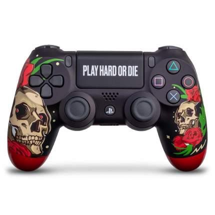 "Геймпад Sony PlayStation Dualshock 4 ""Play hard"""