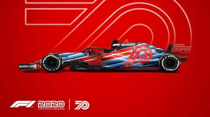 Игра F1 2020 Seventy Edition для Xbox One