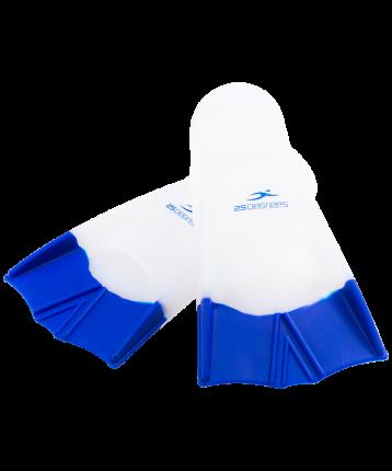 25Degrees Ласты тренировочные Aquajet White/Blue, XXS