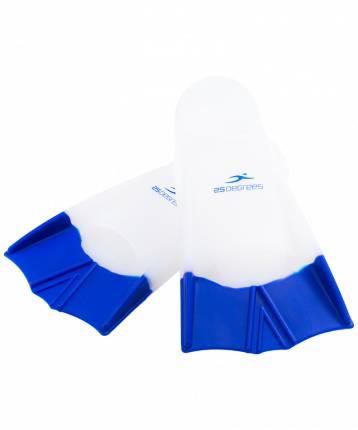 Ласты для плавания 25Degrees Aquajet white/blue XS