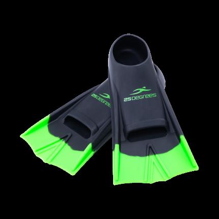 25Degrees Ласты тренировочные Aquajet Black/Green, M